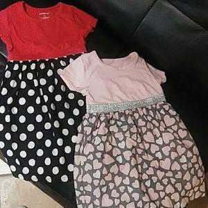 2 for 10 girls dresses